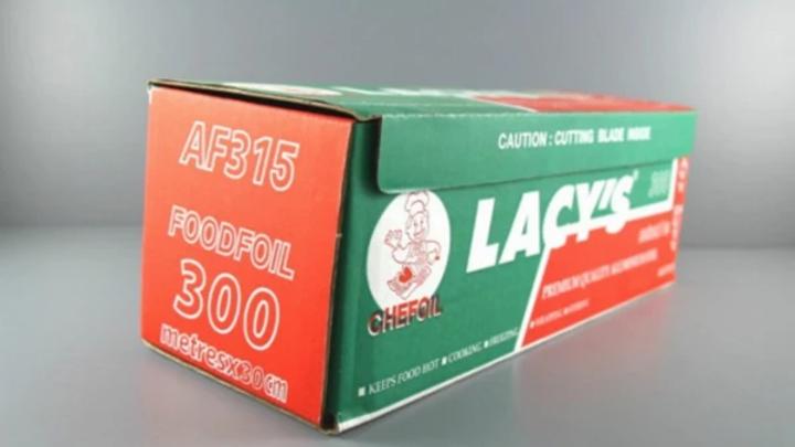 Aluminium Foil AF315 | Lacy's