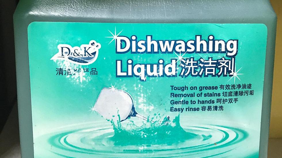 Green DishWashing Liquid   D&K