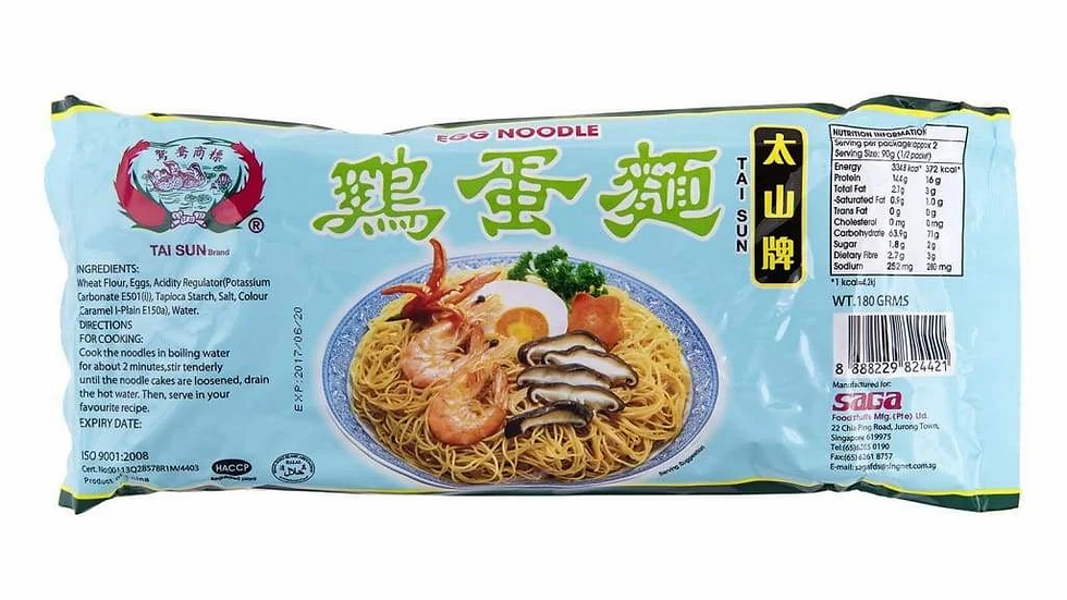 Egg Noodles | Saga