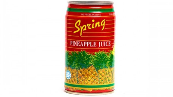 Pineapple Juice   Spring