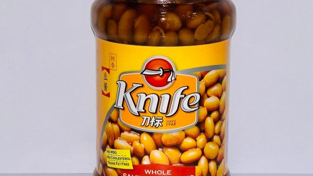 Salted Soy Bean | Knife