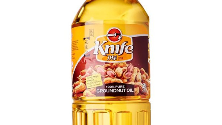 Oil Groundnut 100% Pure   Knife