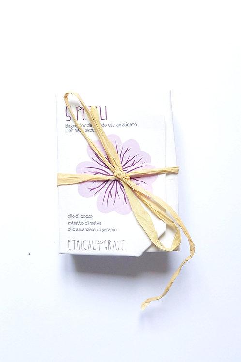 Bagnoschiuma solido da doccia - Pelle sensibile - Ethical grace