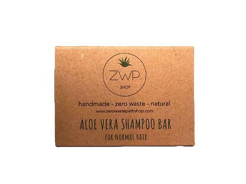 Shampoo solido – Capelli da normali a secchi – Aloe Vera