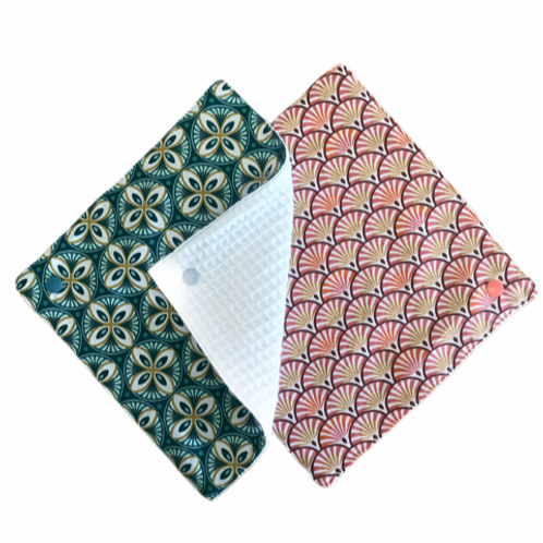 """Porta sapone """"origami"""" in tessuto"""