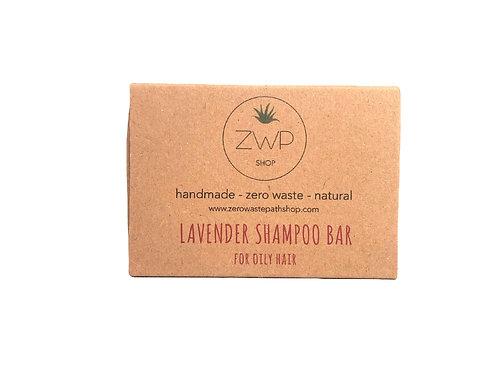 Shampoo solido – Capelli sottili o grassi – Lavanda