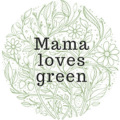 Mama loves green logo