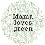 Mama loves green logo