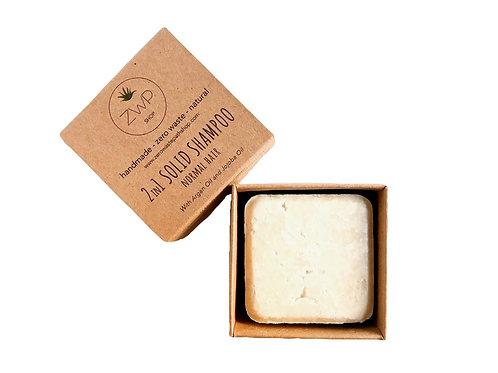 2 in 1 Shampoo Solido – Capelli Normali Saponetta