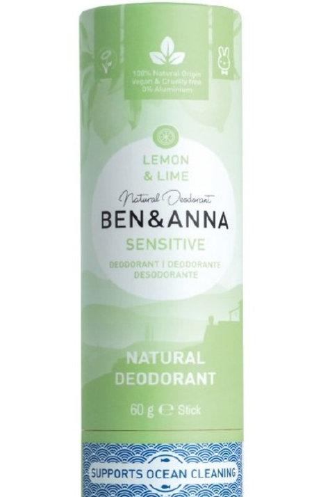 Deodorante pelle sensibile  Lemon & Lime