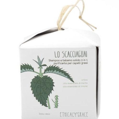 Shampoo 2in1 – Purificante per capelli grassi – Lo Scacciaguai