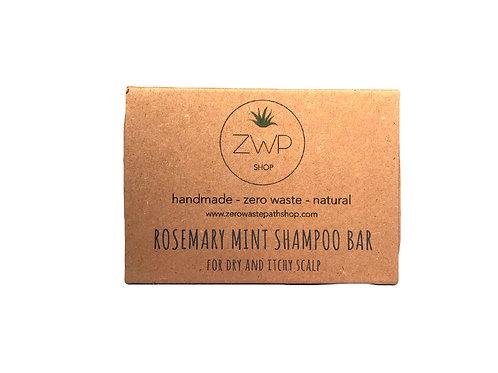 Shampoo solido – Cute sensibile e con forfora - Rosmarino e Menta