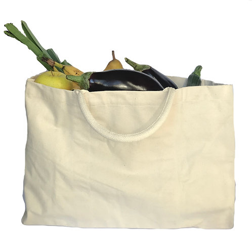 Shopping bag in cotone biologico