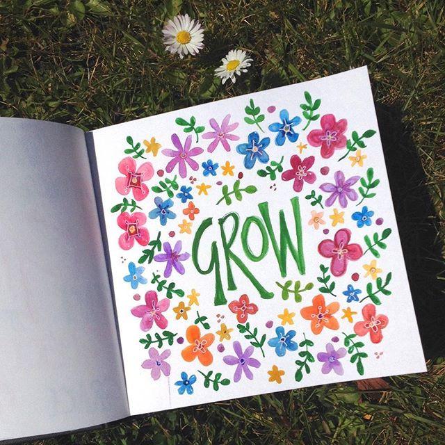 """week 18/52 """"grow"""""""
