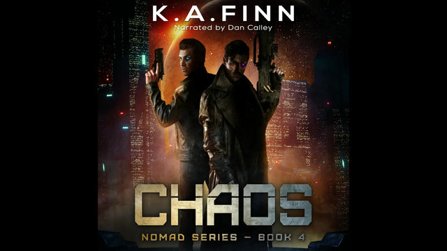 Chaos audiobook is LIVE!