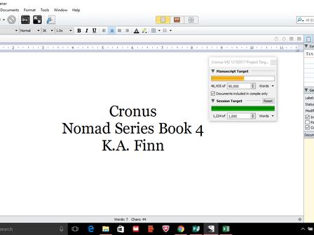 Cronus update