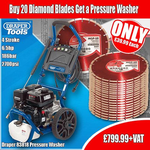 FREE Draper 83818 Pressure Washer Special