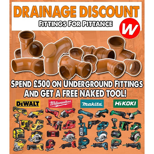 Drainage Discount Deal