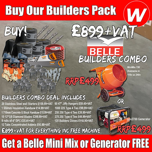 Builders Banza with Free Belle Mini Mix