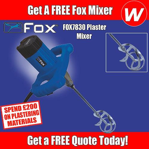 Plasterers Fox Mixer Special