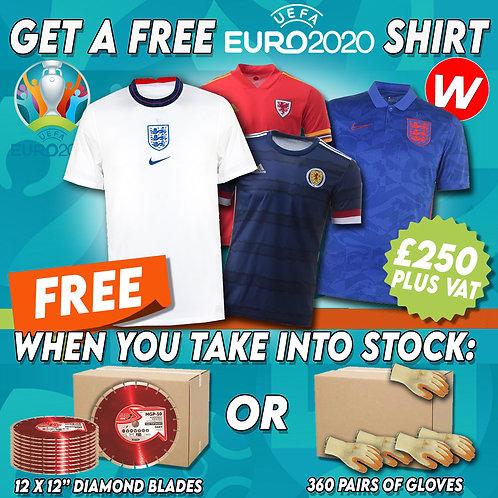 FREE England 2020 Shirt Offer