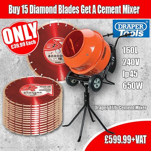 FREE Draper Cement Mixer Special