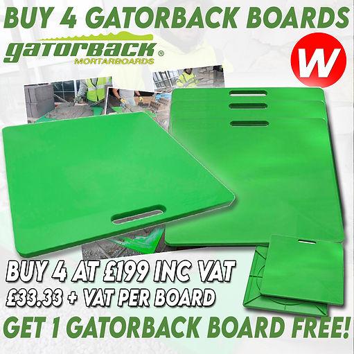 Gatorback Board BUY 4 Get 1 FREE.jpg