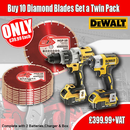 FREE Twin & Diamond Blade Deal