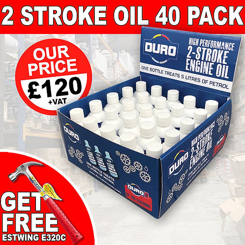 40 X 2 Stroke Oil With Free Gift