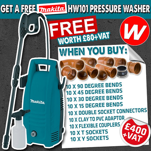 FREE Makita Pressure Washer deals!