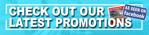 CHECK OUT OR LATEST PROMOTIONS WEB BANNE
