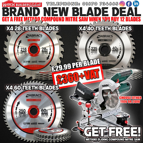 Brand New Blade Promotion