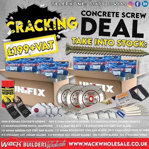Concrete Screw Pack Special