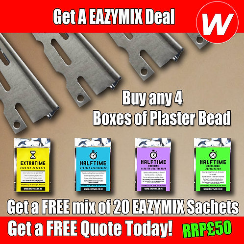 Plaster Bead with FREE EazyMix Sachets