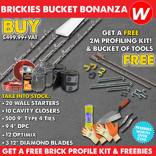 Brickies Bucket Banaza 2021 Special