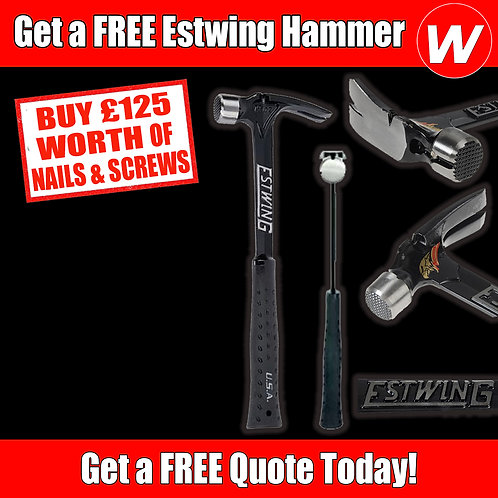Free Estwing Hammer Special