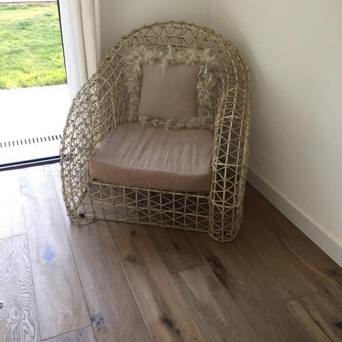 sofa canap fauteuil teck 2 ou 3 places grande taille bois flott. Black Bedroom Furniture Sets. Home Design Ideas