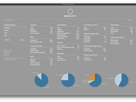 Ecosystem and iPad Auditing Solution