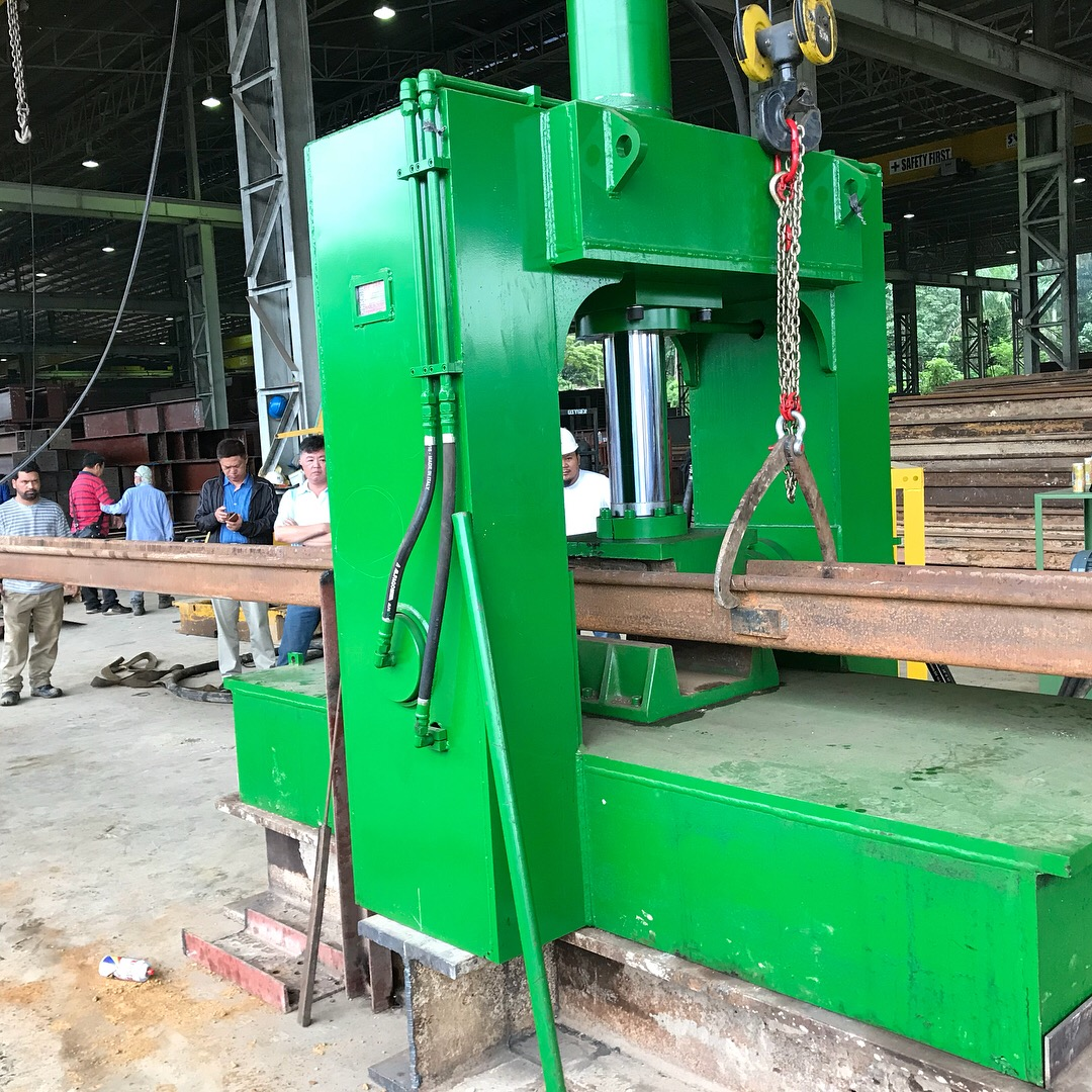Sheet Pile Repairing Machine