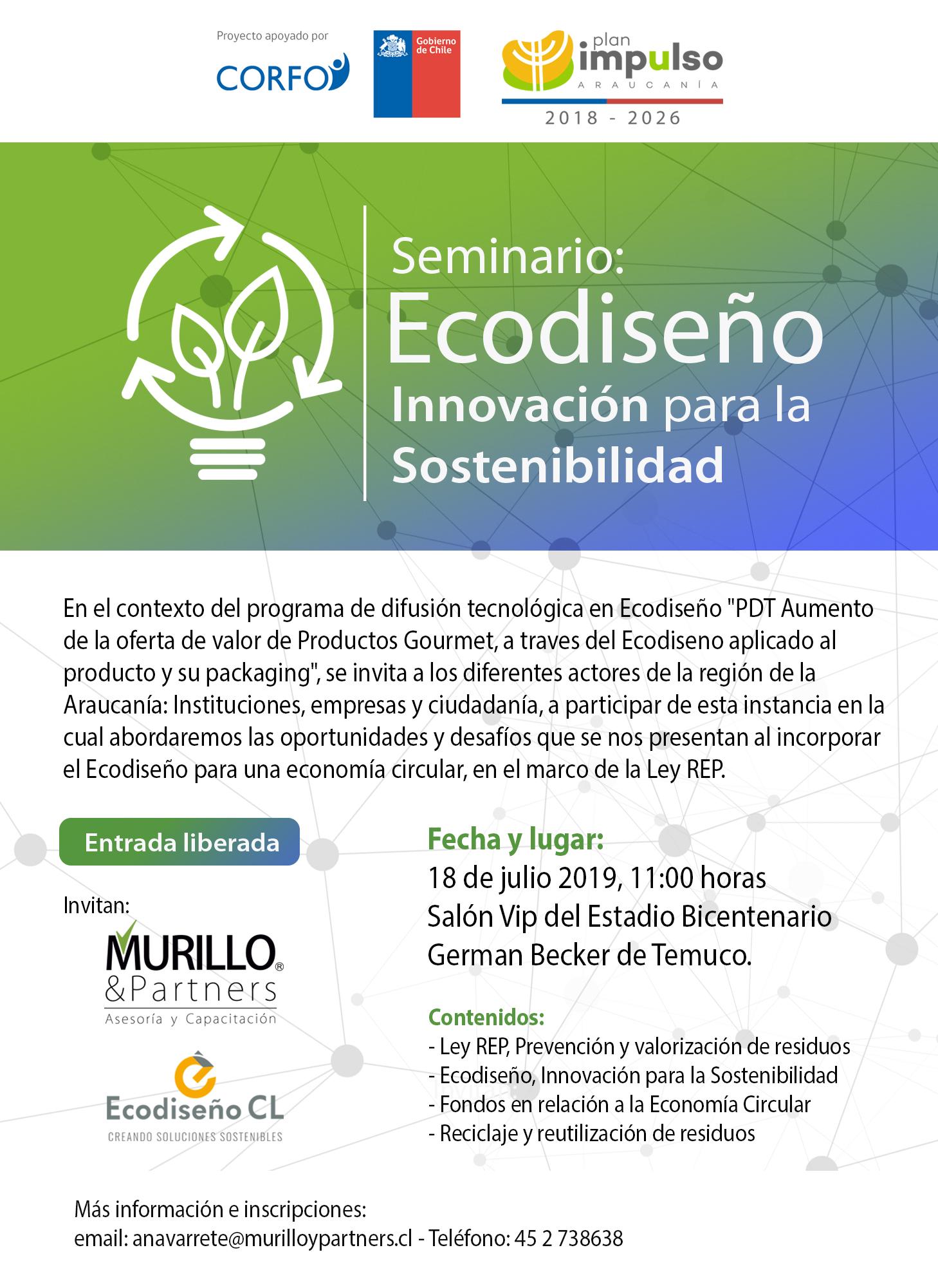 Seminario Ecodiseño Temuco
