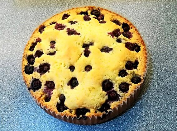 Homemade Lemon, Blueberry ,Almond & Polenta Gluten Free Cake