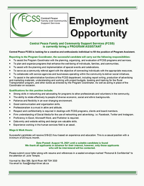 Program Assistant Employment Opportunity.jpg
