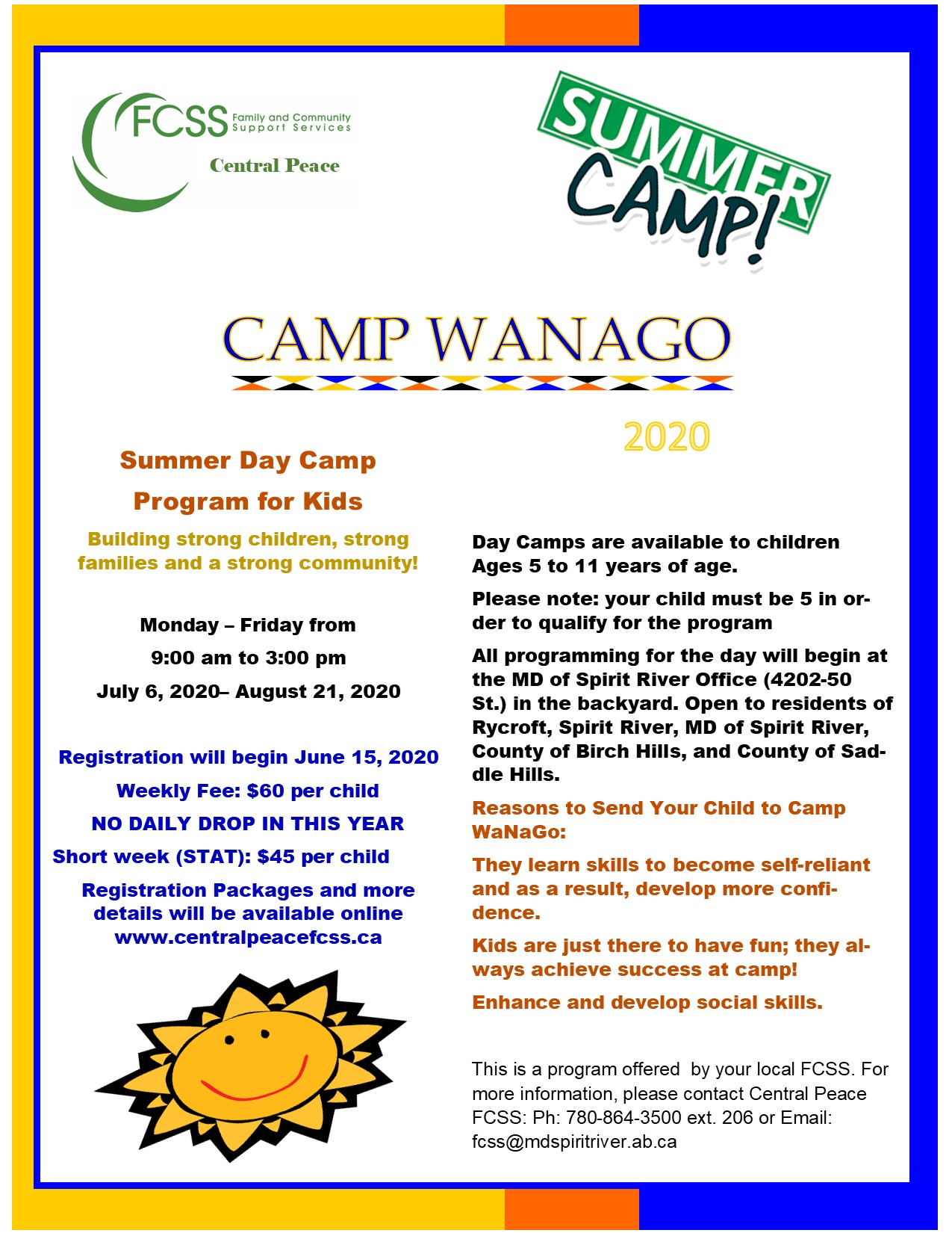 Camp Wanago Poster Ad 2020