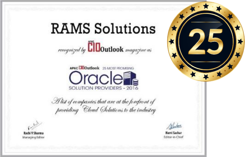 Oracle Solutions Provider 2016