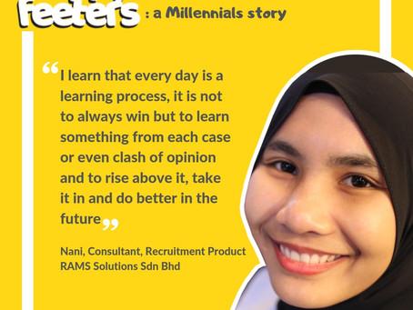Happy Feeters: A Millennial Story by Nur Fatin Hanani