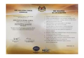MSC Malaysia Status