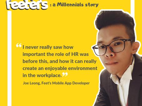 Happy Feeters: A Millenials story by Joe Leong
