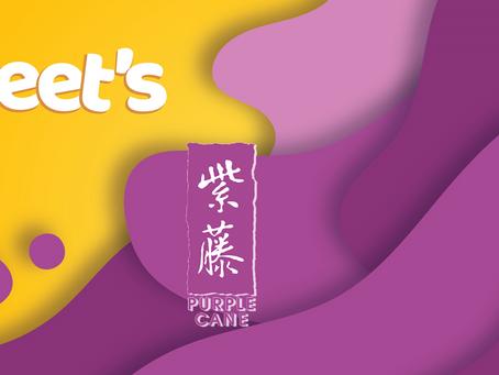 Head over Feet's (heels) with Purple Cane