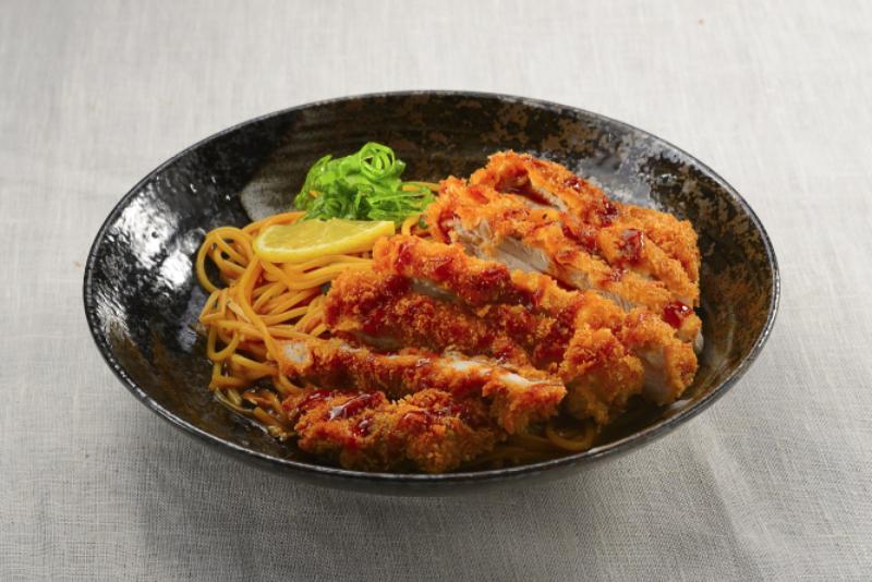 Chicken Katsu Kuromiso Pasta