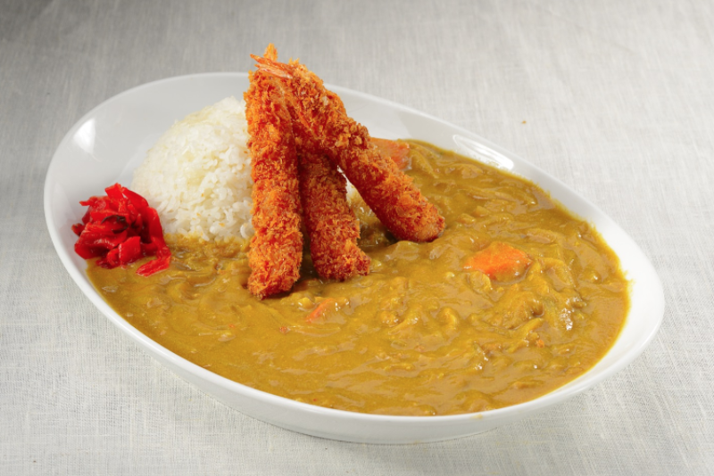 Ebi Fry Curry